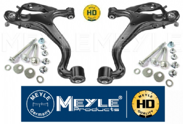 KIT680HD Meyle HD Front Lower Arms & OEM Bolt Kit Discovery 4.   4 Year Warranty LR073367 + LR073369